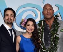 Photo Flash: Lin-Manuel Miranda, The Rock & More Attend MOANA World Premiere