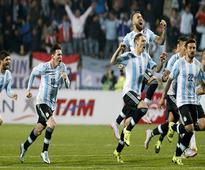 Argentina replaces Belgium at top of FIFA rankings