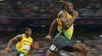 Jamaica's Usain Bolt wins gold