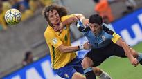 Brazil vs. Uruguay a tale of two halves as David Luiz again disappoints