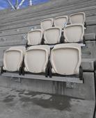 Stadium's big seats for bigger fans
