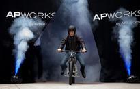 3D-printed motorcycle
