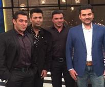 Salman Khan, Sohail and Arbaaz make 100th episode of Koffee with Karan the best yet