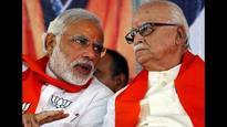 BJP veteran LK Advani praises PM Modi in Ahmedabad