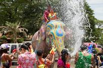 Songkran Festival 2018: Splashing water, rubbing white talcum powder and high on energy tons of tourists, this is how Thailand celebrates New Year