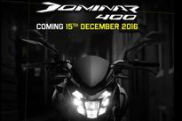All-New Bajaj Dominar 400 First Official Teaser Video Out, Launch on December 15