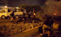 Photos: Pakistan lapses into chaos as anti
