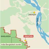 Bangla border villagers' life on fence