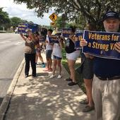 VA Employees Hold Dozens of Rallies Across the Country to Protest Proposed Closing of Veterans Hospitals