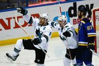 San Jose Sharks on the brink as St. Louis Blues beaten