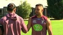 Dylan Walked returns to training for Manly Sea Eagles