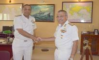 Rear Admiral Sandeep Beecha takes over charge as the Commandant, Naval War College