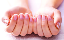 Almond oil and biotin to cure brittle fingernails