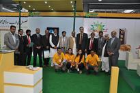 NBP stall at Sarsabz Pakistan Agri Expo in April 2013 at Expo Centre