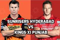 SRH vs KXIP Live Scores IPL 2016: Sunrisers Hyderabad beat Kings XI Punjab by 5 wickets