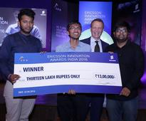 Bits, IIT Teams Win at 'Ericsson Innovation Awards India 2016'