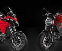 Ducati's superbikes Monster 797 and Superstrada 950 zoom into India