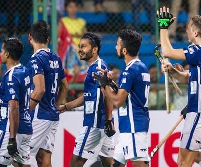 HIL: Affan's brace hand Dabang Mumbai win over Waveriders