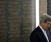 Kerry to meet Livni, Judeh in Rome on Wednesday