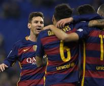 Espanyol 0-2 Barcelona (agg: 1-6): Vile banner aimed at Shakira by fans as Barca breeze through