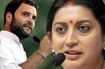 Smriti Irani slams Rahul Gandhi on his Global Hunger Index 'couplet'