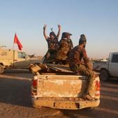 Iraqi Troops Cutting Mosul Supply Route