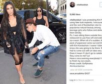 Kim Kardashian files complaint against the man who tried to kiss her back