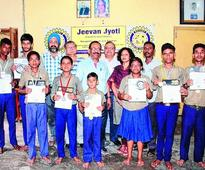 Special honour for child artists