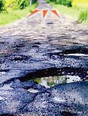 Roads soon to sport orange marks to give red alert on bumpy rides