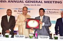 108th Annual General Meeting of IMC held today at Taj Mahal Hotel.