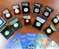 Commemorative Coins of National Bank presented at the international exhibition COINS 2016 in Moscow