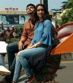 Shraddha and Arjun`s special ride
