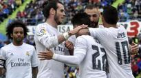 On-fire Real Madrid smash five past Getafe