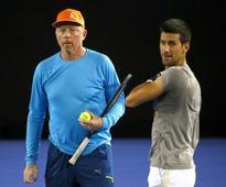 Novak Djokovic's low work