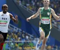 Du Toit wins gold for uncle who died after robbery