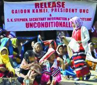 Free UNC leaders, demand Naga women