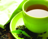 Drink tea for thinner body, beautiful skin