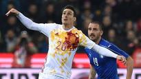 Veteran striker Aritz Aduriz scores first goal for Spain in draw against Italy