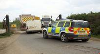 Severed head discovered in UK quarry
