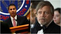 A Jedi acts selflessly for common man; not to enrich giant corps: Mark Hamill slams Ajit Pai's net neutrality video