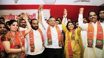 Big jolt for Shiv Sena as 5 senior leaders, corporators join BJP