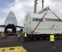 EUTELSAT 65 West A flies into Kourou for Ariane launch on 9 March