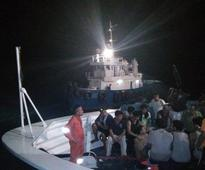 Cargo vessel sinks off Leyte; 28 rescued, 1 missing