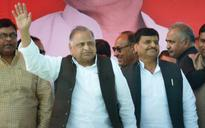 Mulayam campaigns for younger brother Shivpal