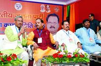 BJP praise with posers