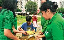 Robin hood Army feed poor, fight against starvation