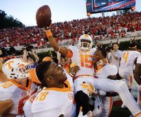 Tennessee beat Georgia with an unbelievable last-second 43-yard Hail Mary