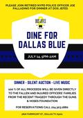 Palladino to Host Major Benefit for Dallas Police