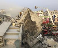 Taiwan powerful quake kills at least 7