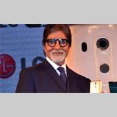 Amitabh Bachchan Unveils New LG Mobile Event Pictures